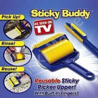 Липкие валики для уборки Sticky Buddy